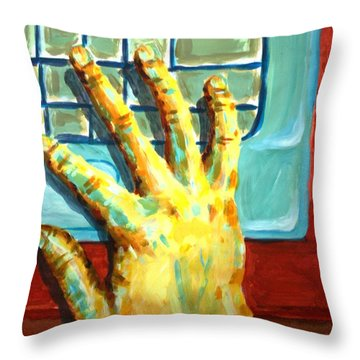 Arbitrary Colors Throw Pillow