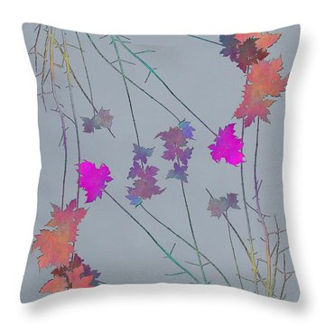 Arbor Autumn Harmony 1 Throw Pillow by Tim Allen