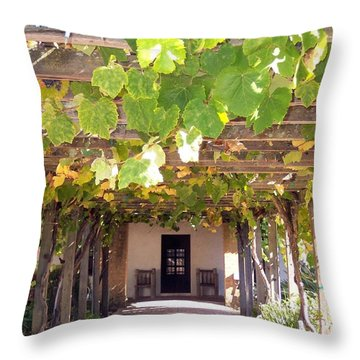 Arbor San Luis Obispo Throw Pillow