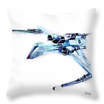 Arc-170 Starfighter Throw Pillow