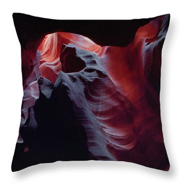 Arc Light-sq Throw Pillow