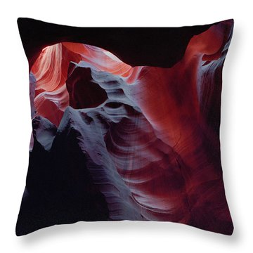 Arc Light Throw Pillow