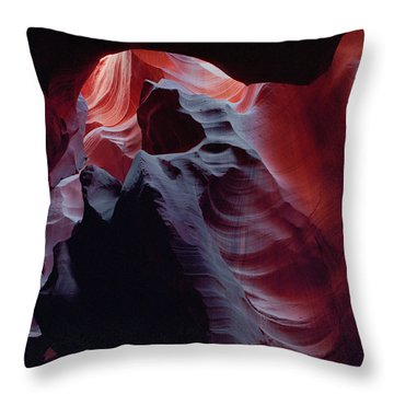Arc Light-v Throw Pillow