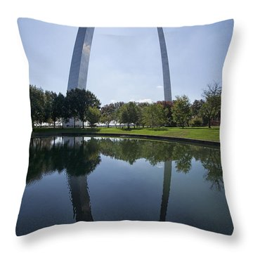 Arch Reflection Throw Pillow