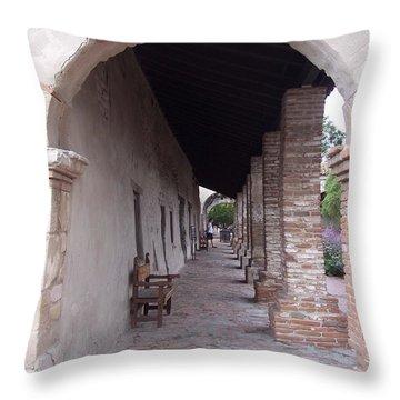 Arch San Juan Capistrano Throw Pillow