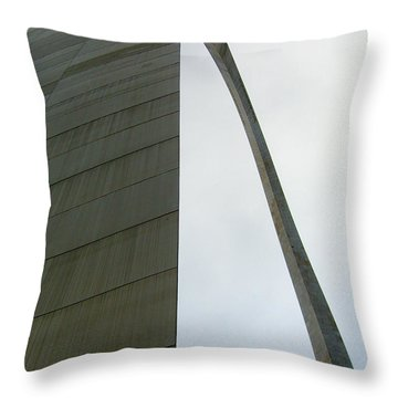 Arch Skewed Throw Pillow