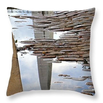 Arch Study 24 Throw Pillow