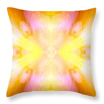 Archangel Jophiel Throw Pillow