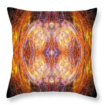 Archangel Uriel Throw Pillow