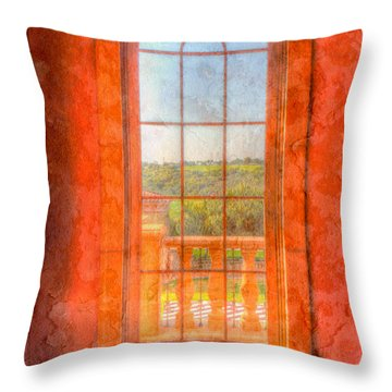 Arched Throw Pillow by Heidi Smith