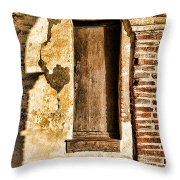 Arched Shadow By Diana Sainz Throw Pillow