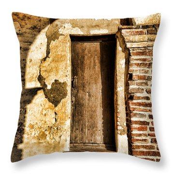 Arched Shadow By Diana Sainz Throw Pillow