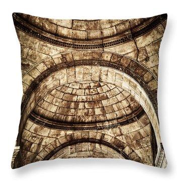 Arches Throw Pillow by Elena Elisseeva