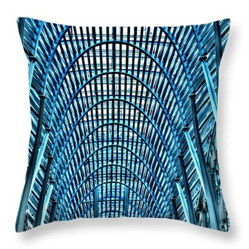 Arches In Brookefield Place Throw Pillow