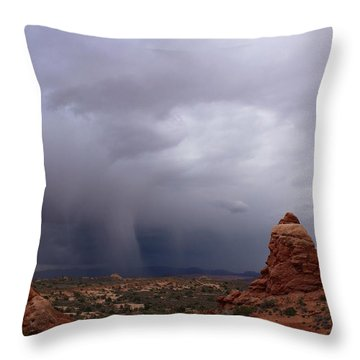 Arches National Monument Moab Throw Pillow