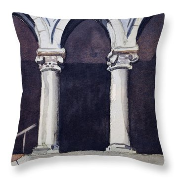 Arches  Throw Pillow by Spencer Meagher