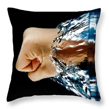 Archimedes Principle Throw Pillow