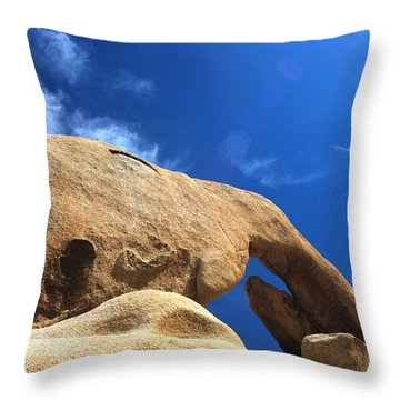 Arching So Elegantly Throw Pillow by Laurie Search