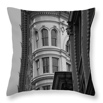 Throw Pillow featuring the photograph Architectural Building by Ivete Basso Photography