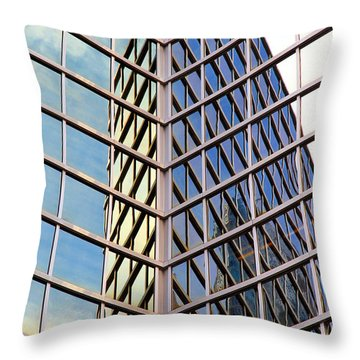 Architectural Details Throw Pillow by Valentino Visentini