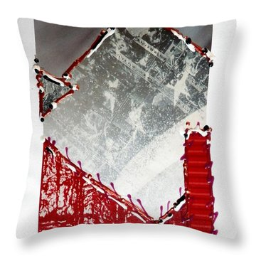 Architectural Throw Pillow
