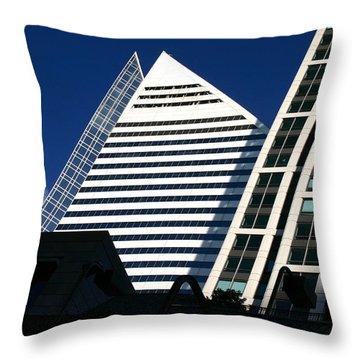 Architectural Pyramid Throw Pillow