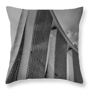 Throw Pillow featuring the photograph Architectural Splendor by Joseph Hollingsworth