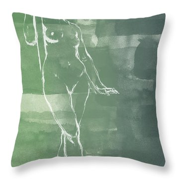 Architecture Throw Pillow by Aged Pixel