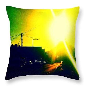 Evening Light Throw Pillow by Jason Michael Roust