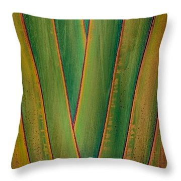 Throw Pillow featuring the photograph Architecture By Nature by Nicola Fiscarelli