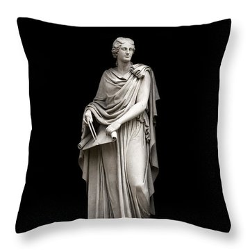 Throw Pillow featuring the photograph Architecture by Fabrizio Troiani