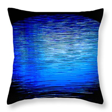 Throw Pillow featuring the photograph Archway Ripples by Brian Stevens