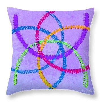 Arcs II Throw Pillow by Rrrose Pix