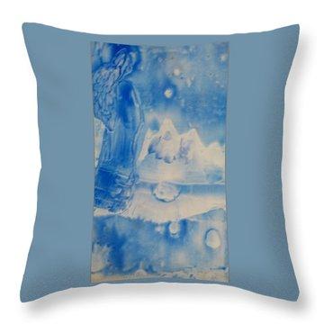 Arctic Angel  Throw Pillow