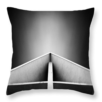 Arctic Cathedral Throw Pillow by Dave Bowman