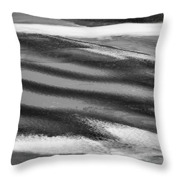 Arctic Melt Throw Pillow