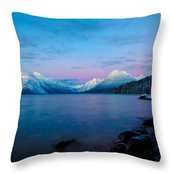 Throw Pillow featuring the photograph Arctic Slumber by Aaron Aldrich