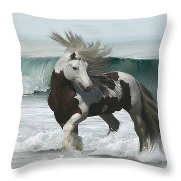 Ard Ri Throw Pillow by Lynn Jackson