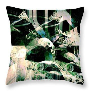 Ardua Throw Pillow by Anastasiya Malakhova