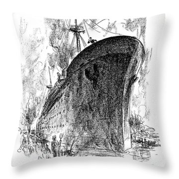Are We Right For The St. Lawrence Seaway? Throw Pillow
