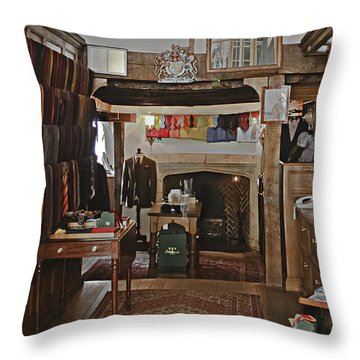 Throw Pillow featuring the photograph Are You Being Served ? by Terri Waters