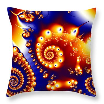 Throw Pillow featuring the photograph Are You Going To San Francisco 02? by Sylvia Thornton