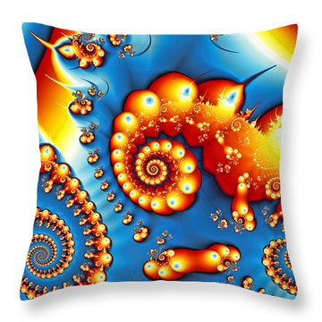 Throw Pillow featuring the photograph Are You Going To San Francisco? by Sylvia Thornton