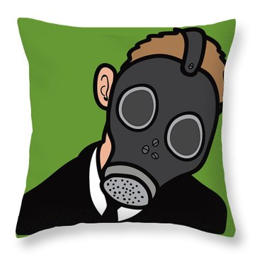 Are You My Mummy Throw Pillow by Jera Sky