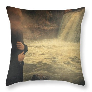 Are You There ? Throw Pillow by Taylan Apukovska