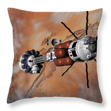 Ares1 Within Range For Rendezvous Throw Pillow