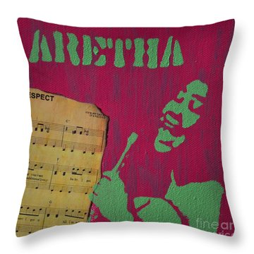 Aretha Throw Pillow