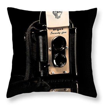 Argus 75 Throw Pillow