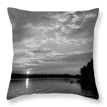 Arise Throw Pillow by Tom Druin