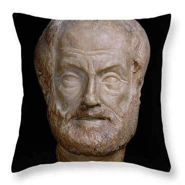 Aristotle  Throw Pillow
